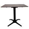 "32"" Square HPL Dining Table with Aluminum Frame"