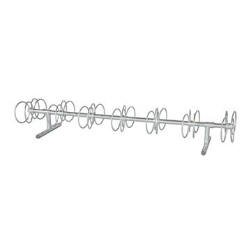 10 Ft. 7-14 Space Circle Style Bike Rack
