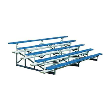 15 ft. 5 Row Portable Powder-Coated Aluminum Bleacher