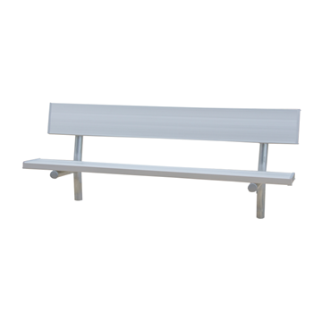 15 ft. Aluminum Park Bench With Galvanized Steel Frame