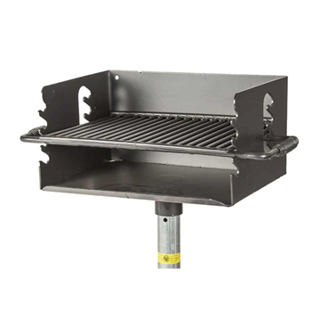 300 Sq. In. Park Outdoor Charcoal Grill with Flip Grate