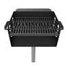 300 Square Inch Cooking Surface Custom Flat Iron Grill with Galvanized Frame