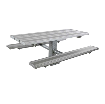 6 Ft. Aluminum Pedestal Picnic Table