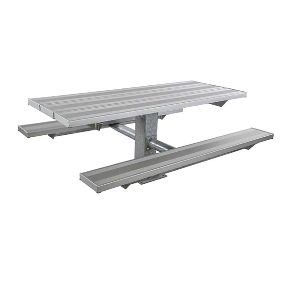 6 Ft. Aluminum Pedestal Picnic Table