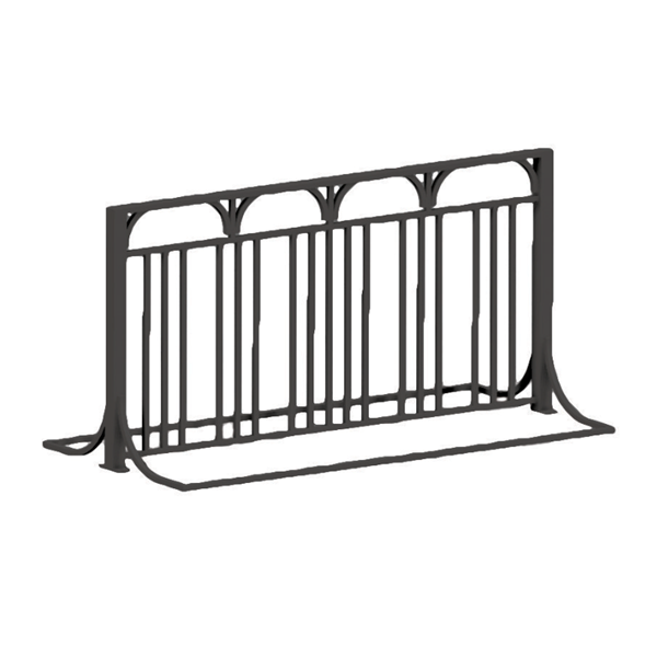 6 Ft. Bike Rack with 10 spaces