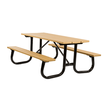 6 Ft. Heavy Duty Recycled Plastic Picnic Table