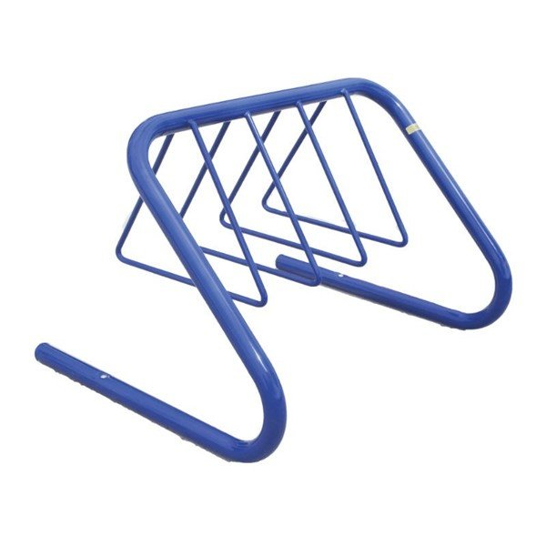 7 Space Triangle Style Bike Rack