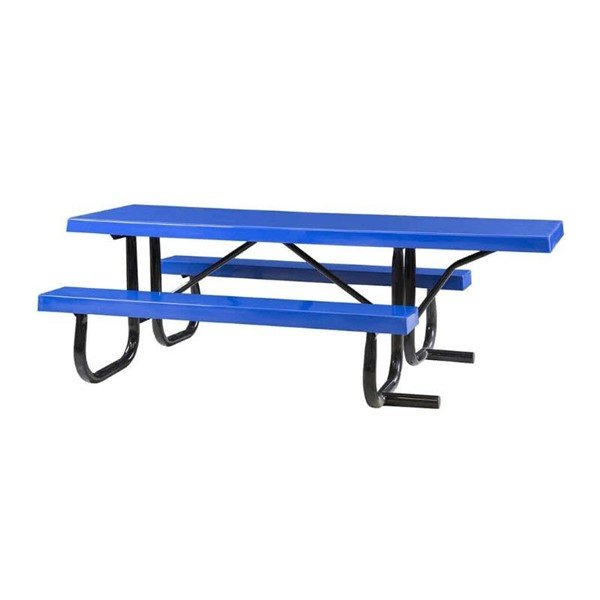 8 Ft. ADA Fiberglass Picnic Table with Extended Top