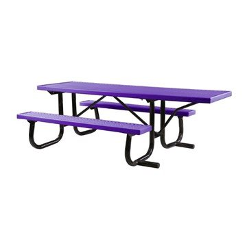 8 Ft. ADA Plastisol Picnic Table, Wheelchair Accessible