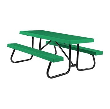8 Ft. Fiberglass Picnic Table with Welded Steel Frame