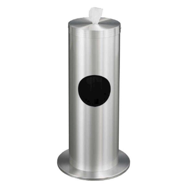 Floor Standing Sanitizing Wipe Dispenser