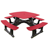 Bistro Recycled Plastic Square Picnic Table