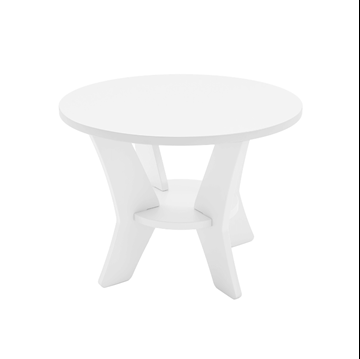 Mainstay High Density Polyethylene Side Table - 18 lbs.