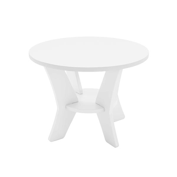 Mainstay High Density Polyethylene Side Table - 18 lbs.