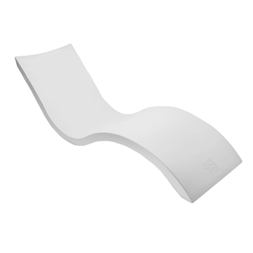 Signature Plastic Resin In-Pool Chaise Lounge