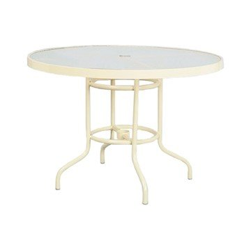 "42"" Acrylic Round Dining Table"