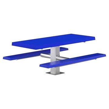 Fiberglass Pedestal Picnic Table, 6 ft.