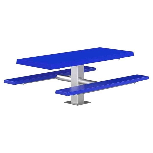 Fiberglass Pedestal Picnic Table, 6 ft.