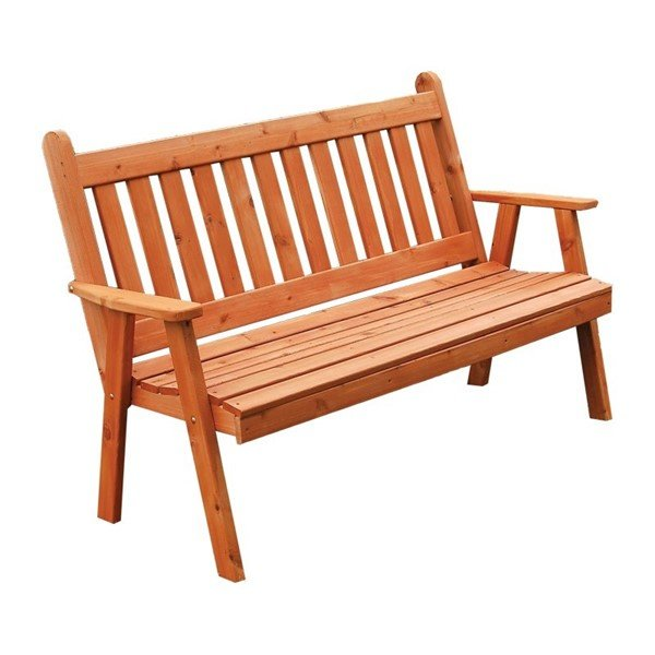 Traditional Wooden Garden Bench
