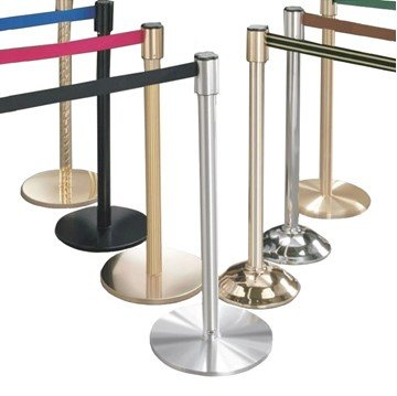 Extenda Barrier Queuing System With 7 Ft Retractable Straps - Bell Base