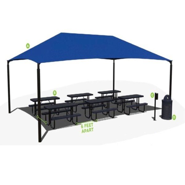 Outdoor Classroom Learning Environment - Table Package
