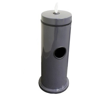 Fiberglass Hand Wipe Dispensers with 7-Gallon Trash Receptacle