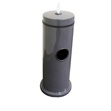Fiberglass Hand Wipe Dispensers with 7-Gallon Trash Receptacle