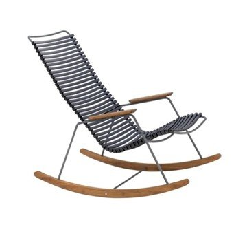 Rocker Chair with Playnk Slats and  Bamboo Accents - 27 lbs.