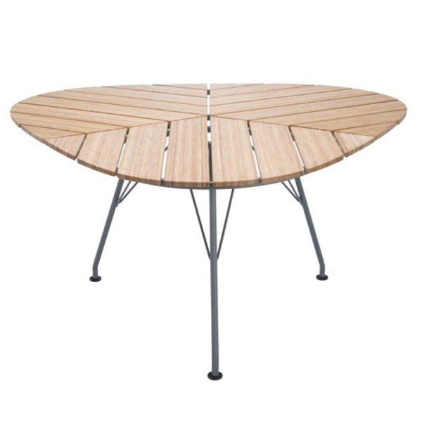 "Ledge Lounger 58"" Triangular Bamboo Playnk Dining Table - 51.5 lbs."