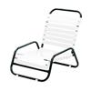 Sanibel Vinyl Strap Sand Chair with Powder-Coated Aluminum Frame - 11 lbs.