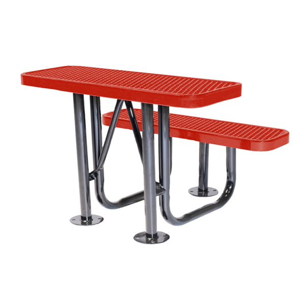 Social Distancing Outdoor Classroom Desk with Thermoplastic Finish