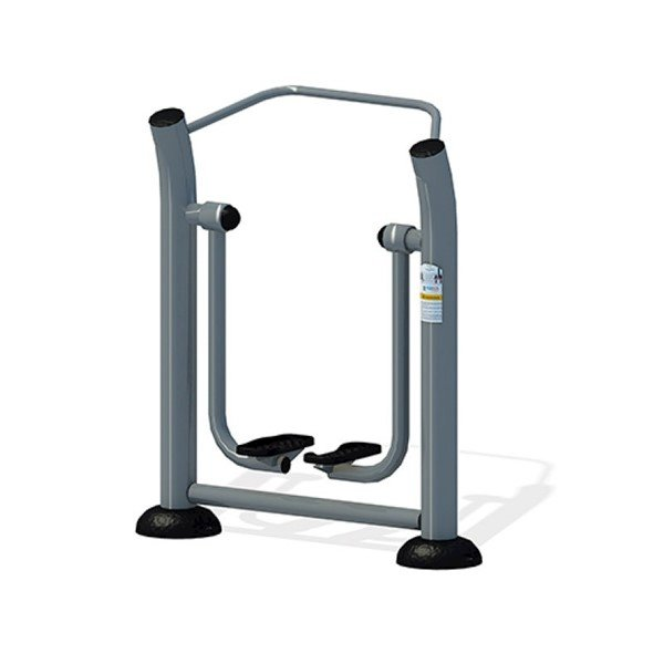 Cardio Outdoor Air Walker for Public Parks - Footing, Surface, or In-Ground Mounting