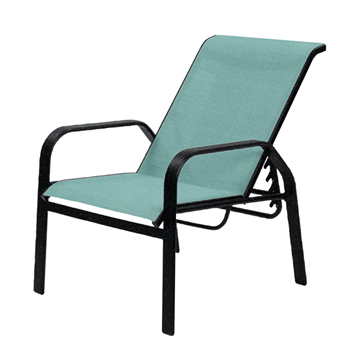 Maya Sling Recliner Chair with Powder-Coated Aluminum Frame - 13 lbs.
