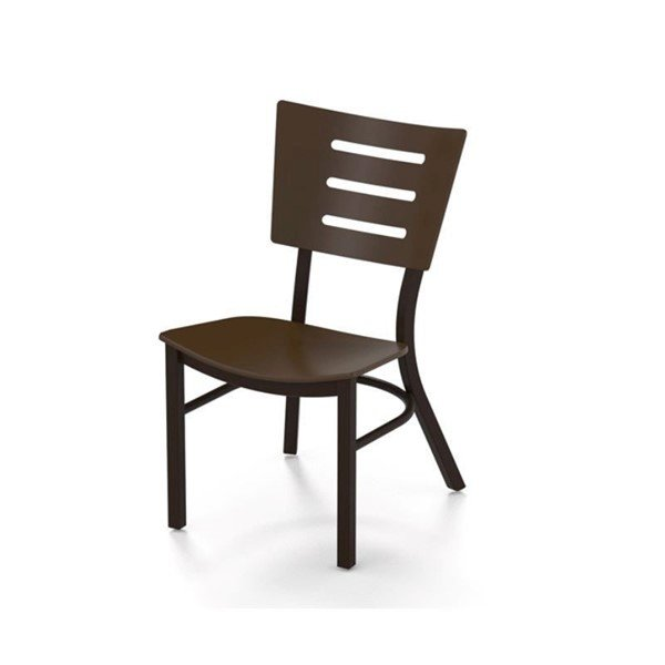 Avant MGP Dining Chair with Stackable Powder-Coated Aluminum Frame - 16 lbs.