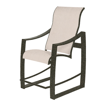 Pinnacle Sling Supreme Gathering Chair with Powder-Coated Aluminum Frame - 20 lbs.