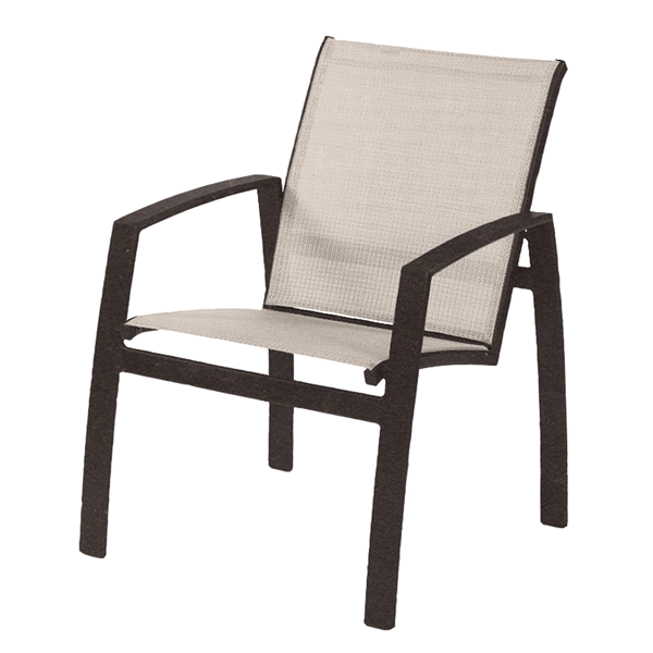 Vision Sling Dining Chair with Powder-Coated Aluminum Frame - 10 lbs.