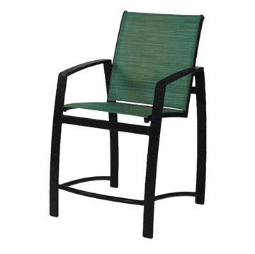 Vision Sling Gathering Chair with Powder-Coated Aluminum Frame - 13 lbs.
