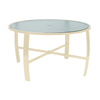 """Pinnacle Dining Table with Powder-Coated Aluminum Frame - 42"""" or 48"""" Round"""