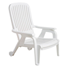 Picture of Bahia Plastic Resin Commercial Grade Pool Deck Chair - 19 lbs.