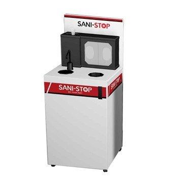 Sani-Stop Mobile Hand Sanitizing Station - 72 lbs.