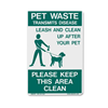 DOGIPOT® ACCESSORIES On Leash Pet Sign
