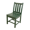 Traditional Garden Recycled Plastic Armless Dining Chair From Polywood