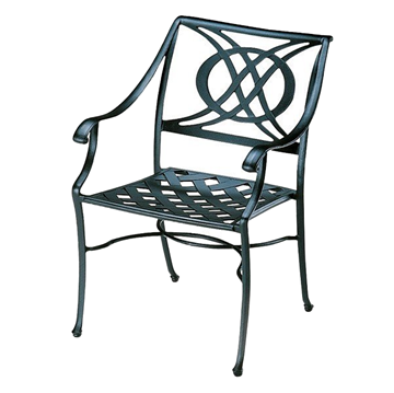 Telescope Cadiz Cast Aluminum Dining Chair