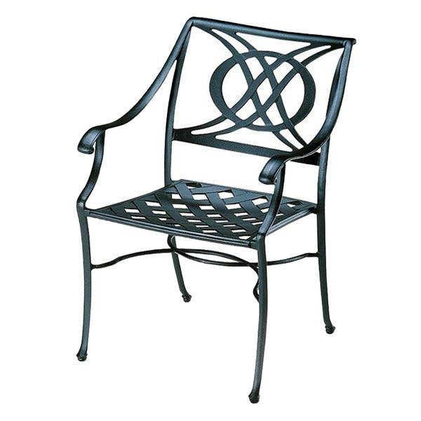 Telescope Cadiz Cast Aluminum Dining Chair