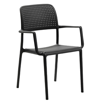 Bora Plastic Resin Dining Chair - 8 Lbs.