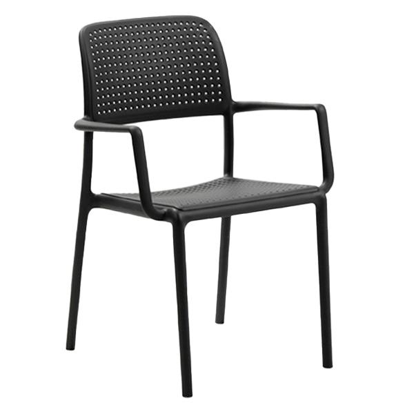 Bora Plastic Resin Dining Chair - 8 Lbs.