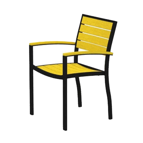 Euro Recycled Plastic Dining Chair From Polywood