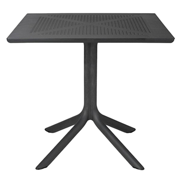 "32"" Square Clip Resin Dining Table by Nardi"