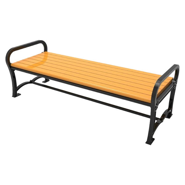 Cascades Recycled Plastic Bench without Back
