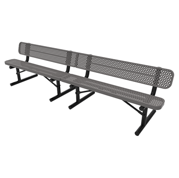 Perforated - Gray - Portable Mount